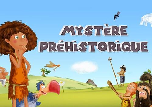 Heure du conte numérique « Mystère préhistorique »