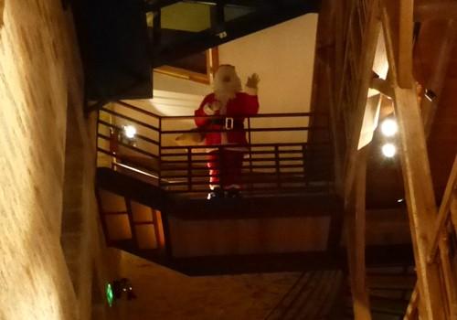 Arrivée du Père Noël et goûter de Noël !