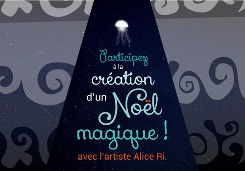 Création collective avec l'artiste Alice Ri.