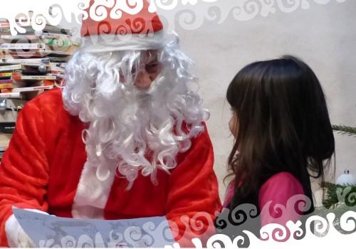 Venez goûter avec le Père Noël !