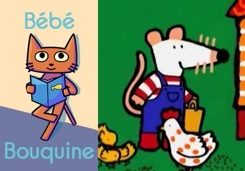 """Bébé bouquine """"Les aventures de Mimi la souris"""""""