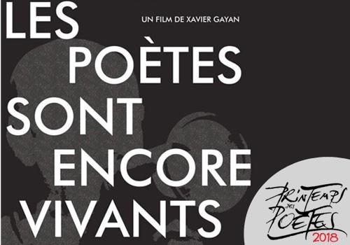 """Film documentaire """"Les poètes sont encore vivants """", en présence du réalisateur Xavier Gayan."""