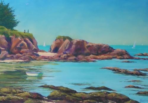 """En juin, exposition : """"Pastels et aquarelles"""" d'Eric Kesteloot"""