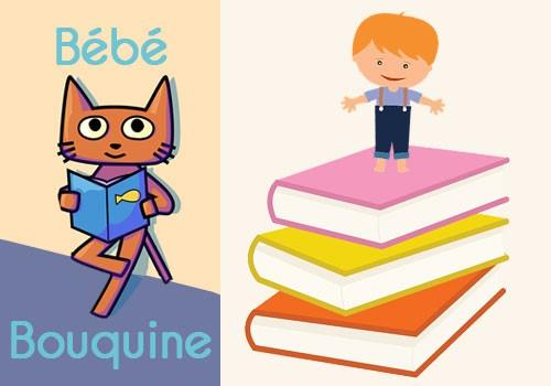Bébé bouquine « Des livres plus grands que toi ! »
