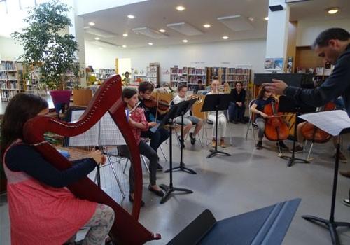 Concert des élèves de l'école de musique de l'OBC