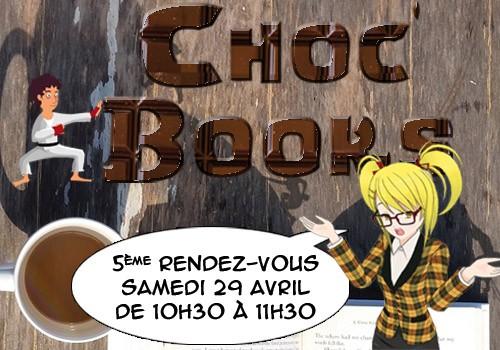 Choc'books : le rendez-vous des ados !