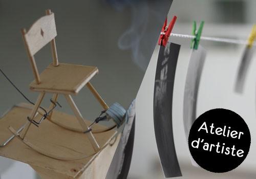 Atelier d'artiste : « Découverte du sténopé » avec Sylvain Lorain
