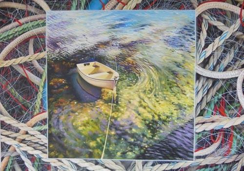 """Exposition  """"Les acryliques de Patrick PERON"""""""