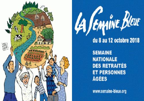 """La """"Semaine bleue"""", en images et sons !"""