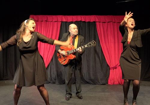 """Spectacle cabaret """"Mille et une femmes"""" avec la compagnie Les Mots en l'Air de Lorient"""