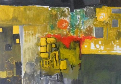 Exposition de peintures à l'huile de Bertrand Le Turnier « Traits urbains »