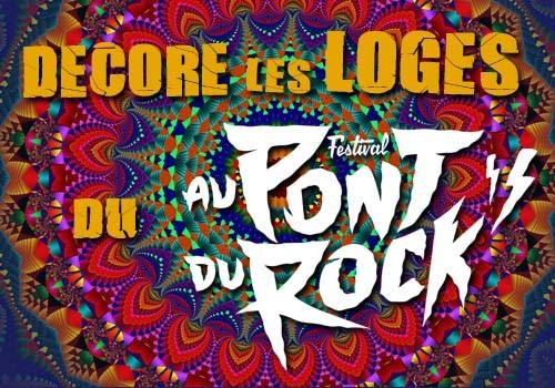 Ateliers et concours de dessin « Décore les Loges du festival Au Pont du Rock »