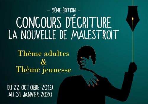 """Concours d'écriture """"La nouvelle de Malestroit"""" : la remise des prix !"""