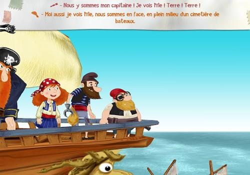 """Conte interactif """"Alizée, fille pirate !"""" pour les 4-10 ans"""