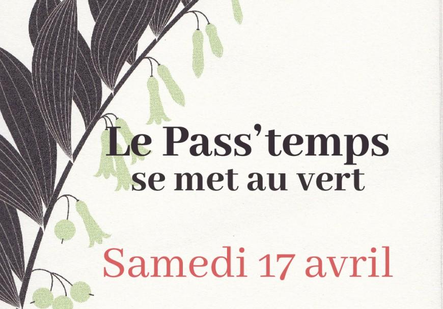 Le Pass'temps se met au vert ANNULÉ