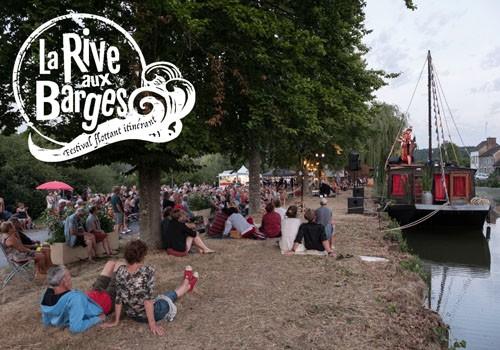 Festival flottant itinérant La Rive aux Barges