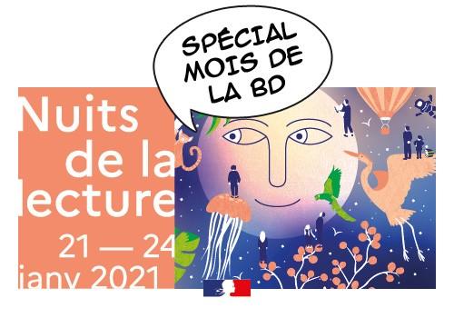 (Annulées) Nuits de la lecture au Pass'temps : soirée spéciale BD