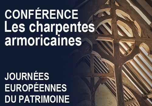 Journées du Patrimoine : conférence sur les charpentes armoricaines