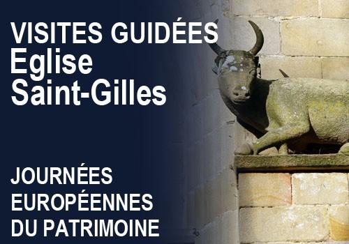 Journées du Patrimoine : visites guidées de l'église Saint Gilles