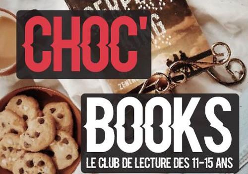 Choc'books des ados : lire, rencontrer, partager autour d'un p'tit déj' !