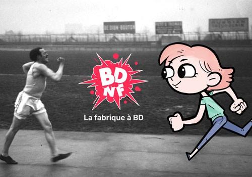 "Atelier ""Crée ta BD"" avec l'appli BDnF"